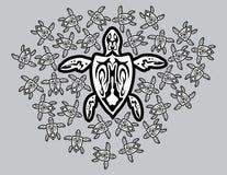 Tartaruga da matriz ilustração do vetor