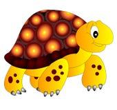 A tartaruga de água doce alegre ilustração royalty free