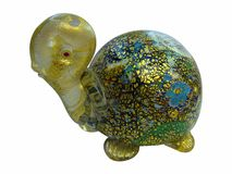 Tartaruga de Beautifull do vidro venetian Imagens de Stock Royalty Free