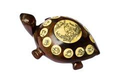 Tartaruga de madeira chinesa fotos de stock