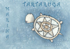 tartaruga de marina Images stock