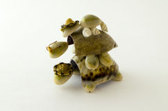 Tartaruga della figurina Fotografia Stock