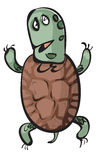 Tartaruga divertente Fotografia Stock Libera da Diritti