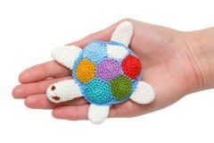 Tartaruga do brinquedo Foto de Stock Royalty Free