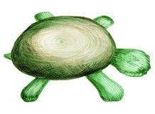 Tartaruga do brinquedo ilustração royalty free