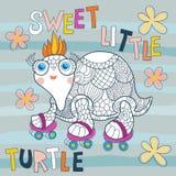 Tartaruga pequena Ilustração Stock
