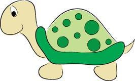 Tartaruga sveglia illustrazione di stock
