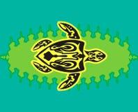 Tartaruga tribal do estilo Foto de Stock