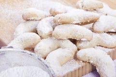 tartas de la arena de la Navidad imagenes de archivo