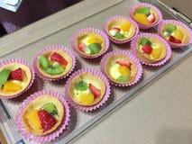 Tartas de la fruta Fotografía de archivo