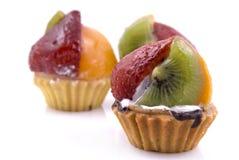 Tartas de la fruta Imagenes de archivo