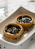Tartas del chocolate Fotografía de archivo libre de regalías