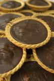 Tartas del chocolate Imagen de archivo libre de regalías
