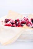 Tartas frescas de la baya Imagenes de archivo