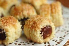 Tartas frescas de la piña Imagen de archivo libre de regalías