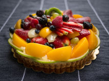Tarte 1 de fruit Images stock