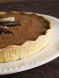 tarte au chocolat Fotografia Stock