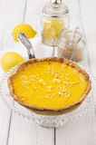 Tarte au Citron Royalty Free Stock Photos