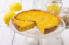 Tarte au Citron Stock Photos