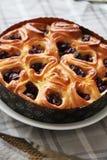 Tarte aux cerises 08 de boulangerie Image stock