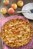 Tarte aux pommes Photo stock