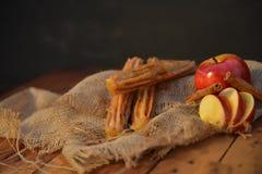 Tarte aux pommes Churro Image libre de droits