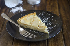 Tarte aux pommes Normande Stock Photography