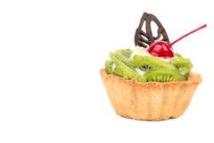 Tarte avec le kiwi Image libre de droits