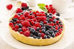 Tarte with Berries Royalty Free Stock Image