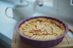 Tarte d'Apple Images libres de droits