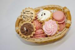 Tarte d'iscuit de tartb de 'brownie' de pâtisserie de gâteau Photographie stock