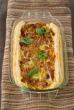 Tarte d'oignon Image stock