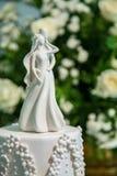 Tarte d'ornement de gâteau de mariage Photo libre de droits