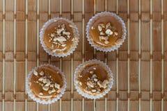 Tarte de caramel Photos stock