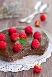 Tarte de chocolat Photos libres de droits
