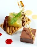 Tarte de chocolat Image stock