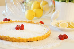 Tarte de citron Image stock