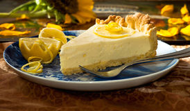 Tarte de citron Photo stock