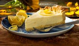 Tarte de citron Photo stock
