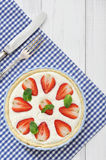 Tarte de fraise Photo libre de droits