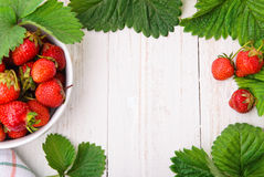Tarte de fraise Image stock