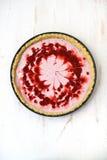 Tarte de fraise Photographie stock