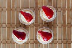 Tarte de fraise Photo stock