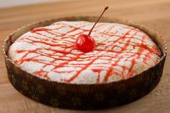 Tarte de fromage blanc Images libres de droits