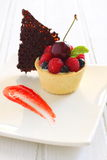 Tarte de fruit Photo stock