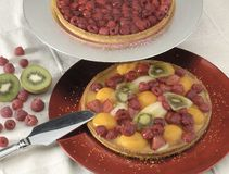 Tarte de fruit Photographie stock