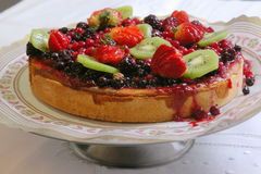 Tarte de fruit Photos libres de droits