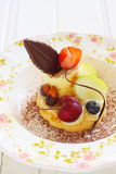 Tarte de fruit frais Photo stock