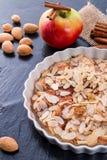 Tarte de maçã com zimt Foto de Stock Royalty Free