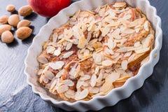 Tarte de maçã com zimt Fotografia de Stock